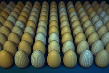 Free Hexadecimal Easter Eggs Stock Photos - 4064653