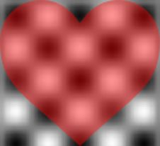 Free Heart Blur Royalty Free Stock Photography - 4065227