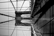 Free Brooklyn Bridge In NYC Royalty Free Stock Photos - 4065578