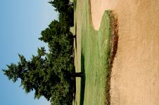Free Sand Trap Royalty Free Stock Image - 4065886