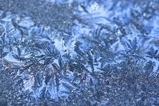 Free Frost On Window Royalty Free Stock Image - 4066016
