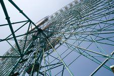 Amusement Park: Ferris Wheel Royalty Free Stock Photos