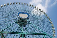 Amusement Park: Ferris Wheel 2 Royalty Free Stock Images