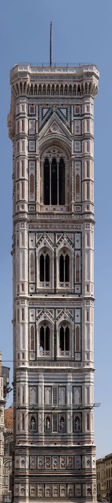 Free Giotto Belle Tower Royalty Free Stock Photography - 4066527