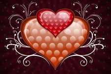Free Two Hearts Stock Photos - 4066893