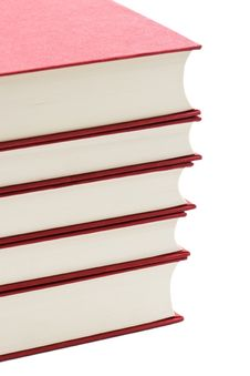 Free A Stack O Red Books Royalty Free Stock Image - 4067216