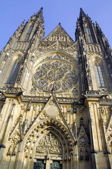 Free Czech Republic, Prague:  St Vitus Cathedral Royalty Free Stock Image - 4068026