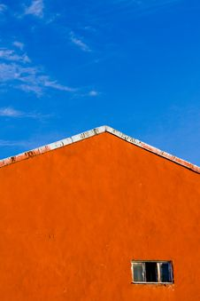 Free Old Wall With Window Royalty Free Stock Images - 4068539