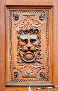 Free Czech Republic, Prague: Ancient Door Royalty Free Stock Photo - 4068625