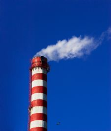 Smoking Chimney Stock Photos