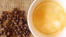 Free Coffee And Beans Royalty Free Stock Photos - 4068868
