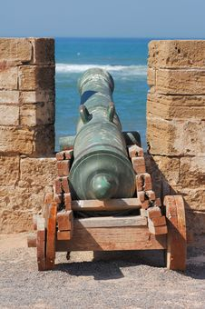 Free Morocco, Essaouira: Very Old Cannon Stock Images - 4068994