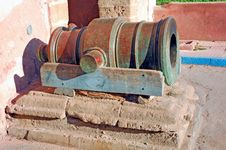 Free Morocco, Essaouira: Antique Cannon Royalty Free Stock Photography - 4069067