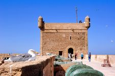 Free Morocco, Essaouira: Seagull On The Fortress Stock Photography - 4069072