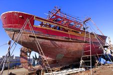 Free Morocco, Essaouira: Fishing Boats Royalty Free Stock Photos - 4069188