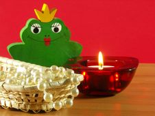 Free Frog Princess Stock Image - 4069361