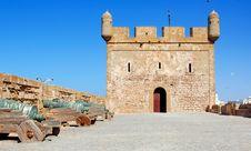 Free Morocco, Essaouira: Fortress Stock Image - 4069381