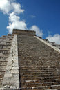 Free Steps Leading To Top Of Mayan Pyramid Royalty Free Stock Photo - 4074525