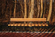Free Bench Royalty Free Stock Image - 4070056