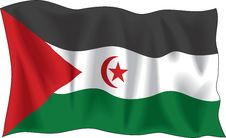 Free Flag Of Western-Sahara Stock Photos - 4071143