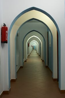 Free Lancet Arch Passage Stock Photo - 4071280