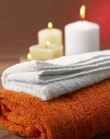 Free Spa Ambient Royalty Free Stock Image - 4071376