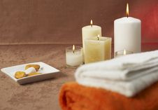 Free Spa Ambient Royalty Free Stock Photos - 4071428