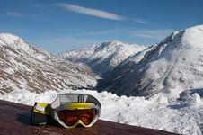 Free Ski Goggles Stock Image - 4071671
