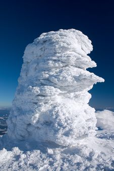 Free Snow Formation Royalty Free Stock Photography - 4071767