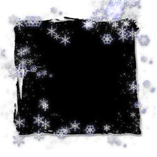 Free Mystical Snowflakes And Twinkles Stock Photos - 4072583