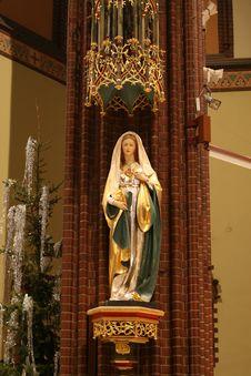 Free Statue Of Mary Stock Photos - 4073263