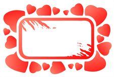 Free Grunge Heart Frame Royalty Free Stock Image - 4074766