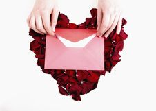 Free Love Letter Royalty Free Stock Photo - 4075185