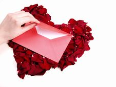 Free Love Letter Stock Photography - 4075202