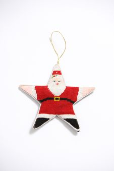 Christmant Ornament Royalty Free Stock Image