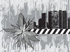 Free Grunge Cityscape Stock Image - 4075791