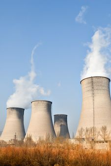 Free Power Plant In Northern China Royalty Free Stock Photo - 4076185