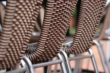 Free Row Of Chairs Stock Images - 4076534