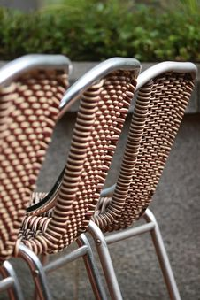 Free Row Of Chairs Stock Photography - 4076542
