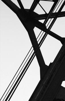 Free Iron Bridge Stock Image - 4076651
