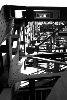 Free Iron Bridge Stock Photography - 4076652