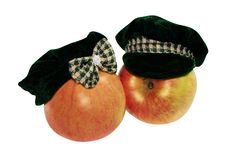 Free Apples In Hats Stock Photography - 4076922