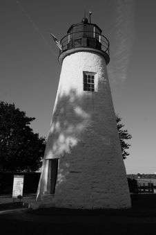 Free Concord Point Lighthouse Stock Photography - 4078132