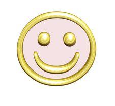 Free Golden Yellow Smiley Stock Photos - 4078303