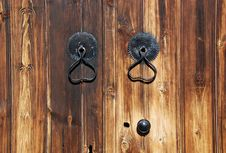 Free Door Handles Royalty Free Stock Image - 4078426