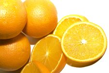 Free Oranges Royalty Free Stock Image - 4078486