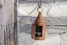 Free Tin Lantern 2 Stock Photo - 4079640