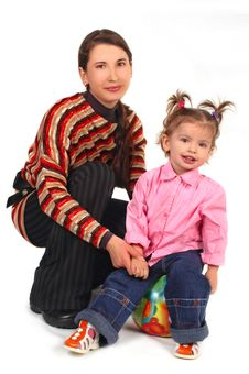 Free Mother With Daughter Stock Image - 4079871