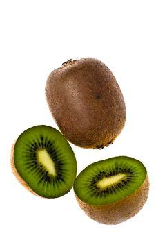 Free Kiwi Fruit Slice - Food Stock Photos - 4079943