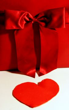 Free Valentines Red Hot Gift Royalty Free Stock Images - 4079969